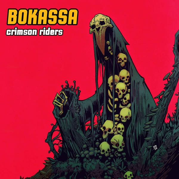 Bokassa - Crimson Riders Coloured  Vinyl