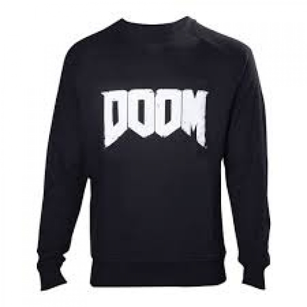 DOOM Mens Logo Medium Sweater
