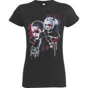 DC Comics - Suicide Squad Harley's Puddin Women's Small T-Shirt - Black