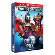 Transformers Prime - Series 2 - Orion Pax (With Toy & Top Trumps Trading Cards) DVD