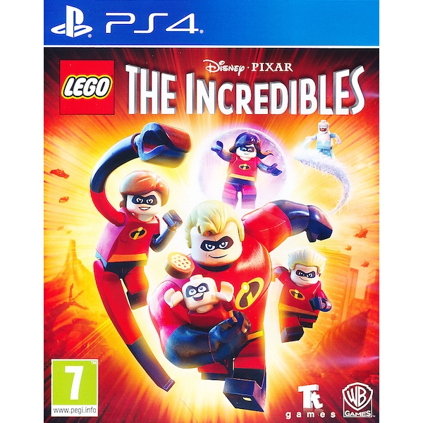 Lego Incredibles PS4 Game [Nordic]