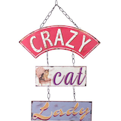 Crazy Cat Lady Wall Art