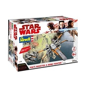 Poe's Boosted X-Wing Fighter (Star Wars) 1:78 Scale Level 1