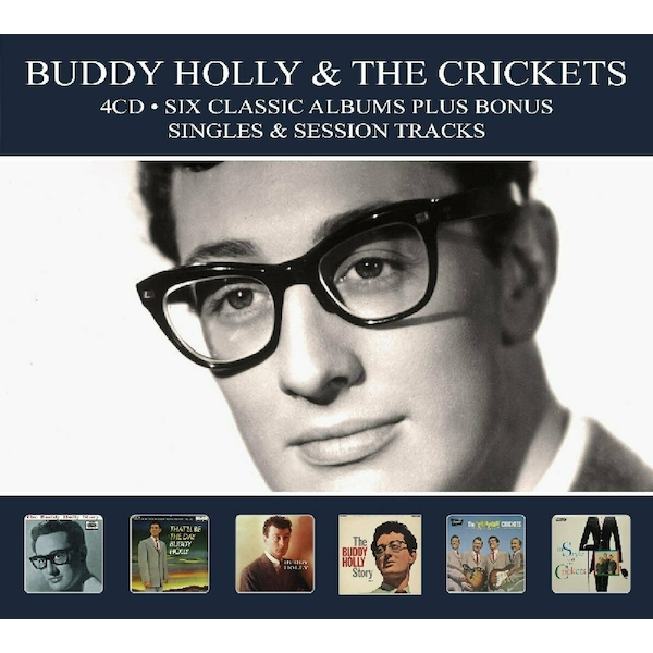 Buddy Holly & The Crickets - Six Classic Albums Plus Bonus Singles And Session Tracks CD