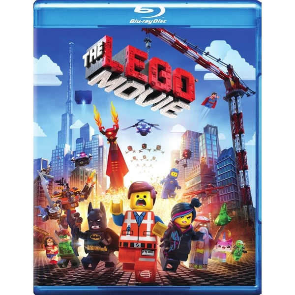 Lego Movie Blu-ray