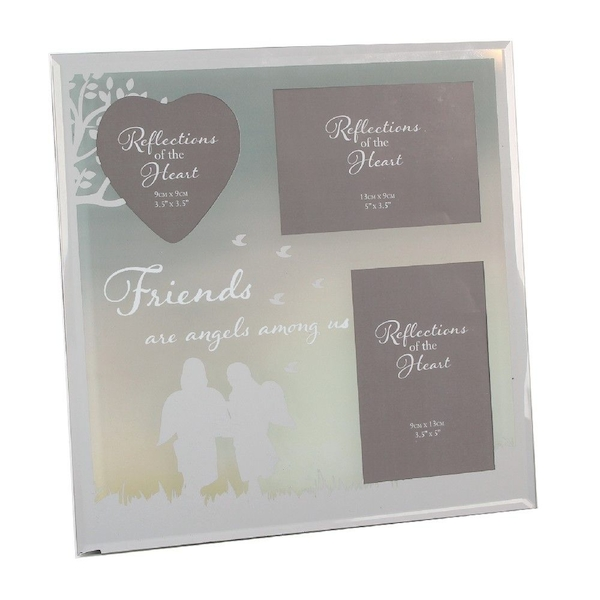 Reflections of The Heart Collage Photo Frame - Friends