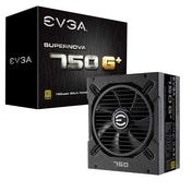 EVGA 120-GP-0750-X3 SuperNOVA 750 G1  80 Plus Gold 750 W Fully Modular Power Supply Unit - Black