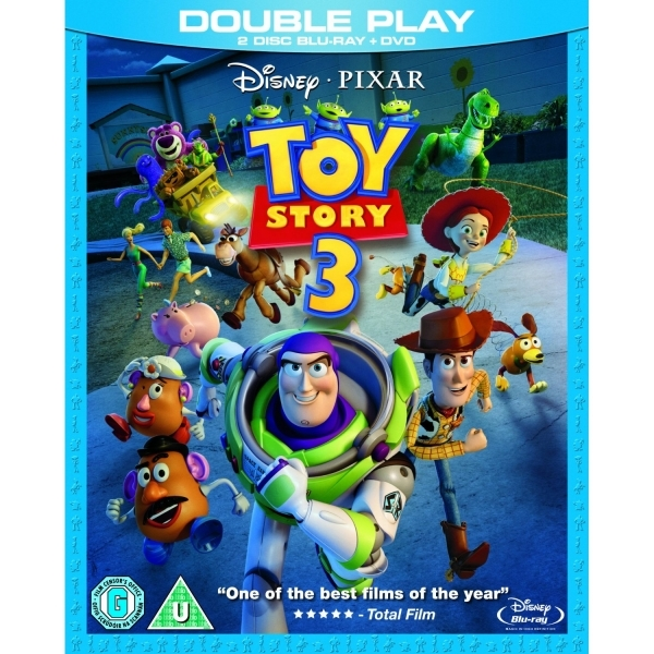 Disney Pixar Toy Story 3 Blu-Ray and DVD