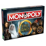 Ex-Display Lord of The Rings Monopoly Trilogy Edition Board Game Used - Like New