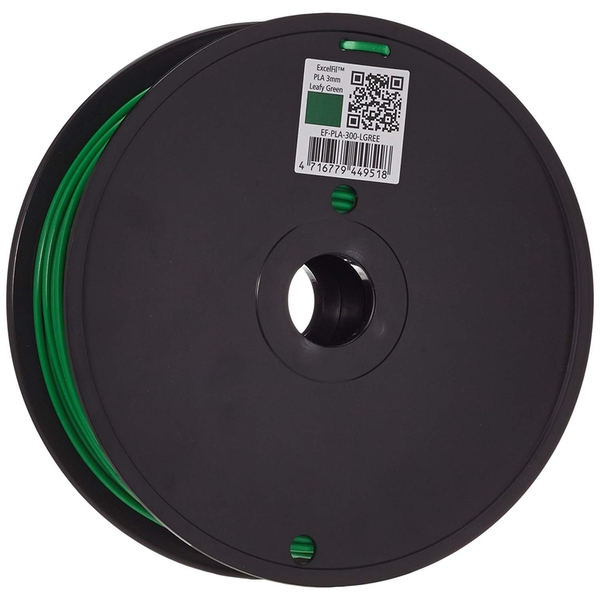 Voltivo ExcelFil - High grade 3D Printing Filament - PLA -3mm - Green