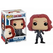 Black Widow (Marvel Captain America Civil War) Funko Pop! Bobble-Head Vinyl Figure