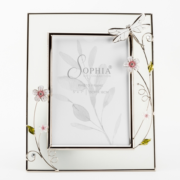 """5"""" x 7"""" - SOPHIA Classic Collection Dragonfly Frame"""