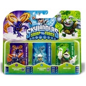 Zoo Lou, Spyro, and Chill (Skylanders Swap Force) Triple Character Pack B