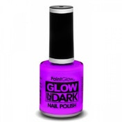 PaintGlow Glow In The Dark Nail Polish (violet) 10ml