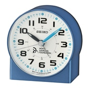 Seiko QHE907L Novak Djokovic Foundation Alarm Clock - Metallic Blue