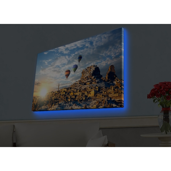 4570HDACT-083 Multicolor Decorative Led Lighted Canvas Painting