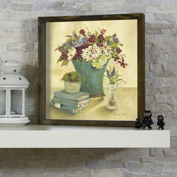 KZM447 Multicolor Decorative Framed MDF Painting