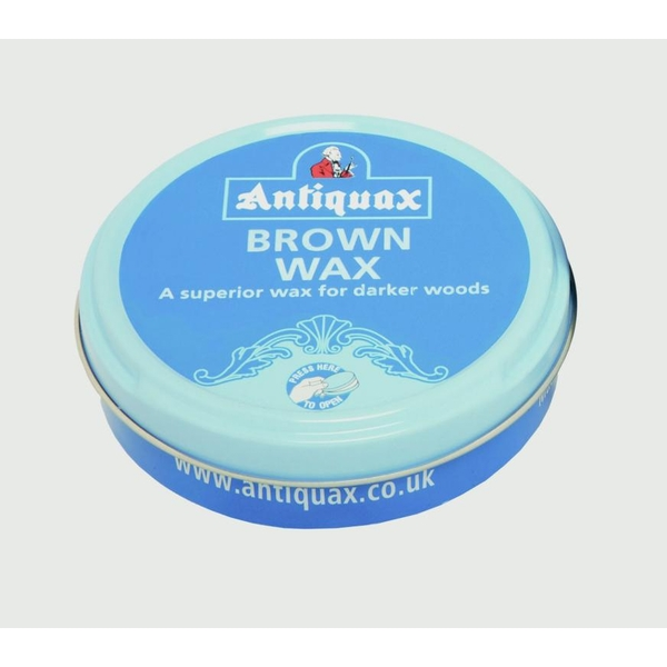 Antiquax Original Wax Polish Brown - 100ml