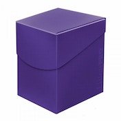 Ultra Pro Eclipse Deck Box - Royal Purple