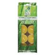 Citronella Tealight Candles (Pack of 10)