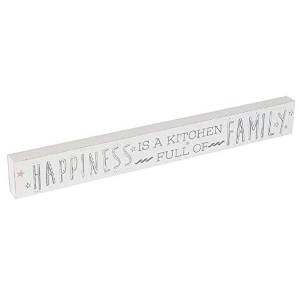 Love Life Happiness Is A Kitchen Plaque