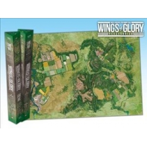 Wings Of Glory Countryside Game Mat Board Game