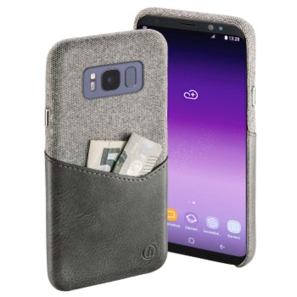 """Hama """"Gentle"""" Cover for Samsung Galaxy S8, light grey"""