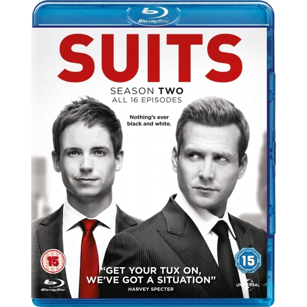 Suits Season 2 Blu-ray