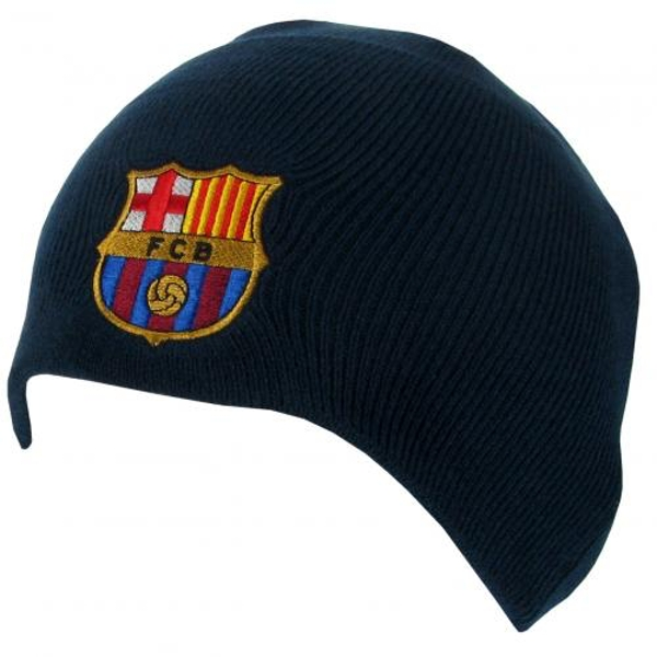 FC Barcelona Navy Knitted Hat