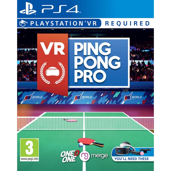 VR Ping Pong Pro PS4 Game (PSVR Required) - Image 1