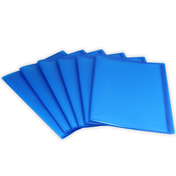 Set of 6 A4 Display Folder | Pukkr Blue
