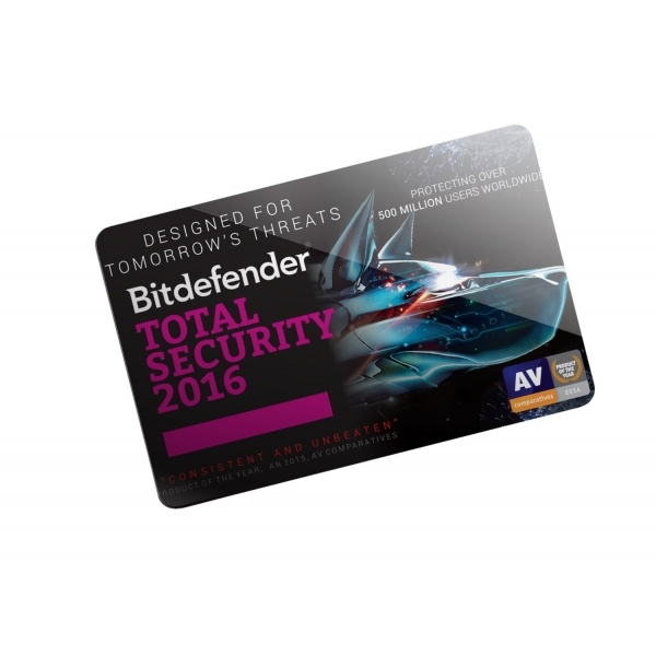 Bitdefender 2016 Total Security 5 user 2 year ESD