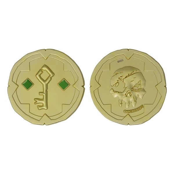 Sea of Thieves Replica Gold Hoarder Coin Limited Edition
