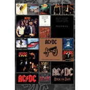 AC/DC Covers Maxi Poster