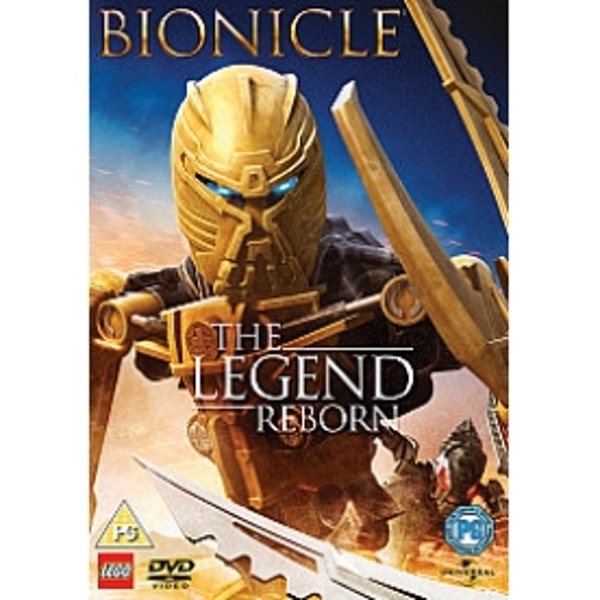 Bionicle The Legend Reborn DVD