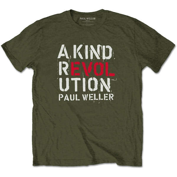 Paul Weller - A Kind Revolution Unisex X-Large T-Shirt - Green