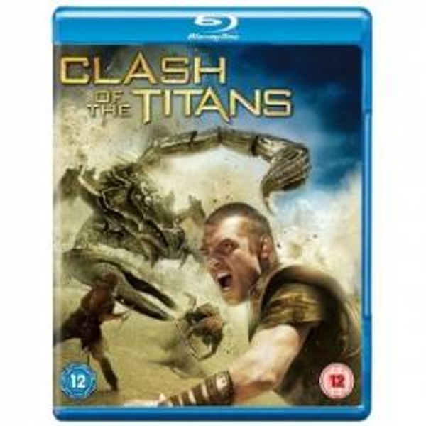 Clash Of The Titans 2010 Blu-Ray