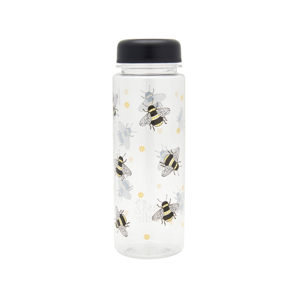 Sass & Belle Busy Bees Clear Water Bottle