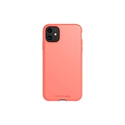 Tech21 Studio Colour Apple iPhone 11, Lightweight Thin Protective Hardshell Cover - Coral