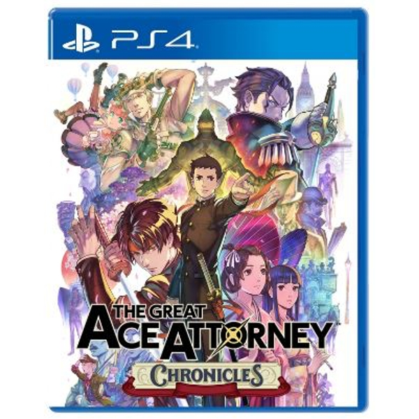 The Great Ace Attorney Chronicles PS4 Game