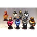 Hot Toys Set of 8 Iron Man (Iron Man 3) Series 2 Collectable Busts - Image 4