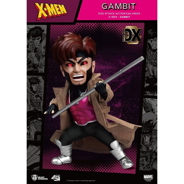 X-Men Egg Attack Action Figure Gambit Deluxe Ver. 17 cm