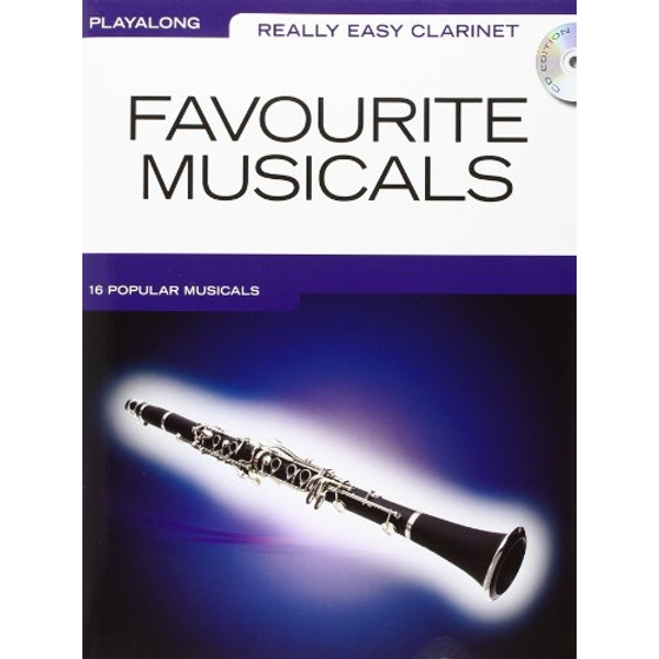 Really Easy Clarinet: Favourite Musicals by Music Sales Ltd (Paperback, 2010)