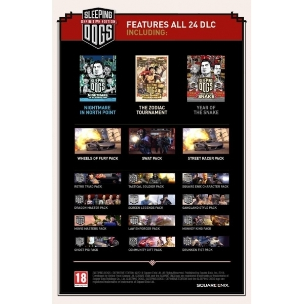 Sleeping Dogs Definitive Limited Edition PC Game (Boxed and Digital Code) - Image 3