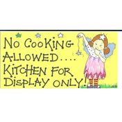 No Cooking Allowed...