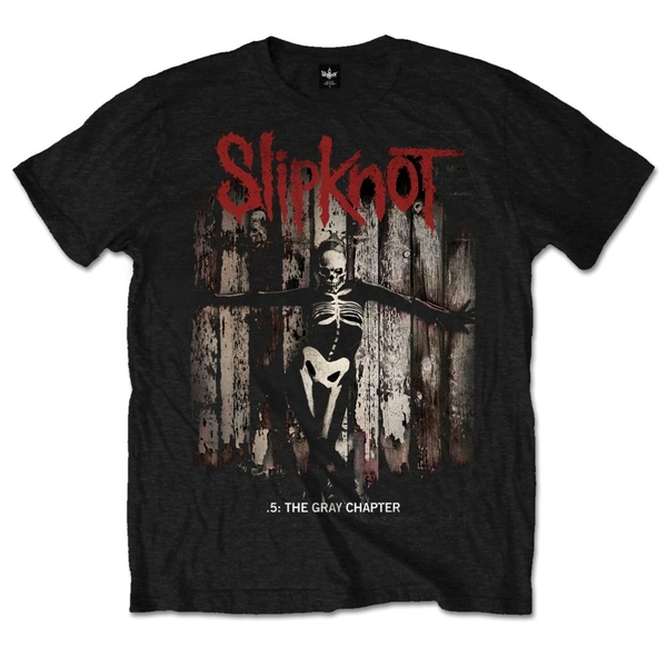 Slipknot - .5: The Gray Chapter Album Unisex Large T-Shirt - Black