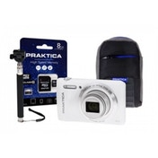 PRAKTICA Luxmedia Z212 Black Camera Kit 8GB MicroSD  Adapter  Case  Selfie Stick