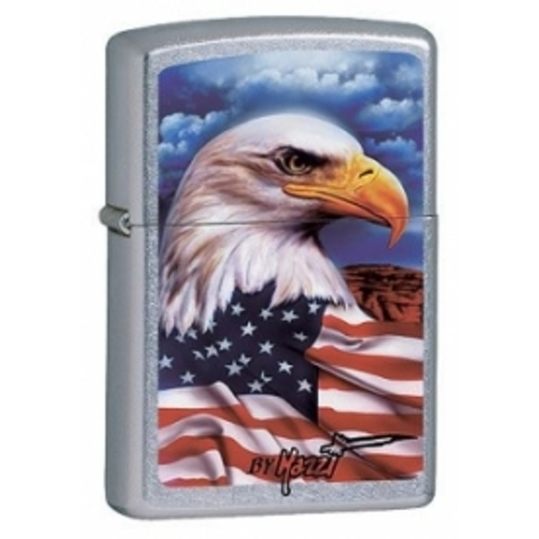 Zippo Mazzi Freedom Watch Windproof Lighter
