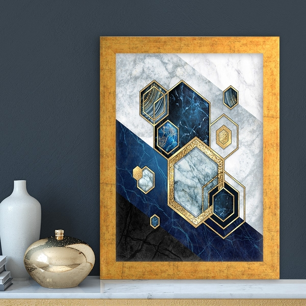 AC1532075933 Multicolor Decorative Framed MDF Painting