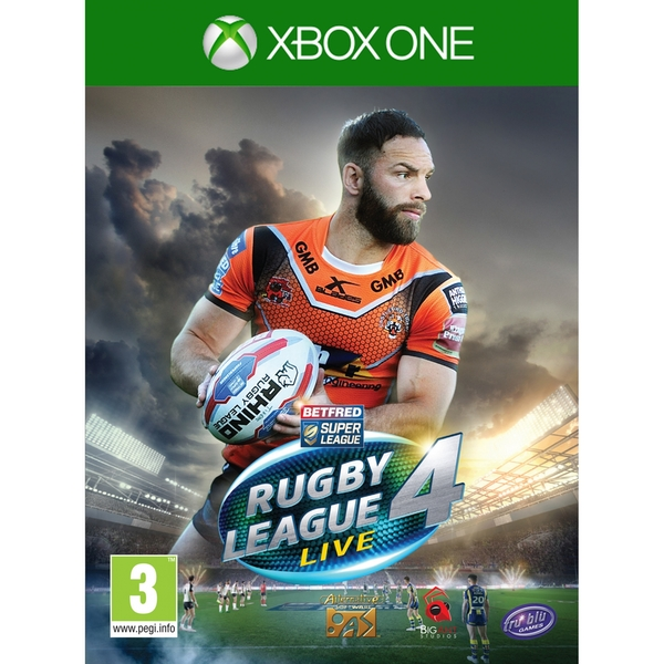 Sports Rugby Live: Rugby League Live 4 Xbox One Game